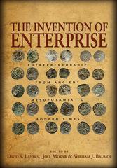 The Invention of Enterprise 1st Edition 9781400833580 1400833582