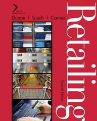 Retailing 7th edition 9781439040812 1439040818