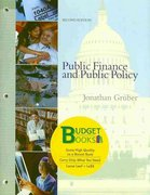 Public Finance and Public Policy (loose leaf) 2nd edition 9781429239547 1429239549
