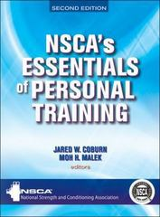 NSCA's Essentials of Personal Training-2nd Edition 2nd Edition 9781450498401 145049840X