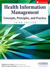 Health Information Management 3rd Edition 9781584262176 1584262176