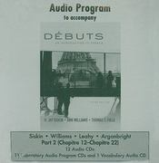 Audio CDs Part 2 (Component) to accompany Débuts: An Introduction to French 3rd edition 9780077305598 0077305590