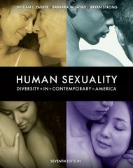 Human Sexuality 7th Edition 9780073370880 0073370886