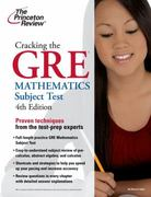 Cracking the GRE Mathematics Subject Test, 4th Edition 4th Edition 9780375429729 0375429727