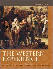 The Western Experience 10th Edition 9780073385532 0073385530