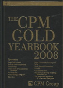 The CPM Gold Yearbook 2008 1st edition   Rent ...