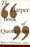 The Harper Book of Quotations 3rd edition 9780062732132 0062732137