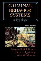 Criminal Behavior Systems 3rd edition 9780870841804 0870841807