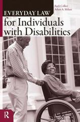 Everyday Law for Individuals with Disabilities 1st Edition 9781594511448 1594511446