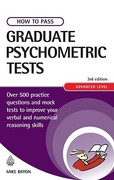 How to Pass Graduate Psychometric Tests 3rd edition 9780749448523 0749448520