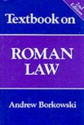 Textbook on Roman Law 2nd edition 9781854316424 1854316427