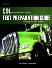 CDL Test Preparation Guide 2nd Edition 9781418038472 1418038474
