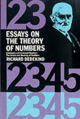 Essays on the Theory of Numbers 1st Edition 9780486210100 0486210103