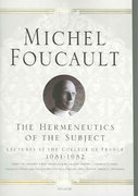 The Hermeneutics of the Subject 1st Edition 9780312425708 0312425708