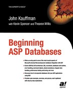 Beginning ASP Databases 0 9781590592496 1590592492