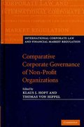 Comparative Corporate Governance of Non-Profit Organizations 1st edition 9780521761840 0521761840