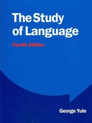 The Study of Language 4th edition 9780521749220 0521749220