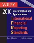 WILEY Interpretation and Application of International Financial Reporting Standards 2010 7th edition 9780470453223 0470453222