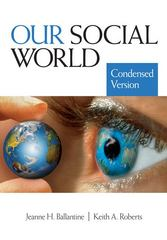 Our Social World 0 9781412966597 1412966590