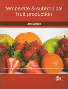 Temperate and Subtropical Fruit Production 3rd edition 9781845935016 1845935012