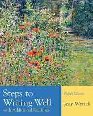 Steps to Writing Well with Additional Readings 8th edition 9781428292055 1428292055