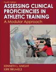 Developing Clinical Proficiency in Athletic Training 4th Edition 9780736083614 0736083618