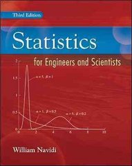 Statistics for Engineers and Scientists 3rd edition 9780073376332 0073376337