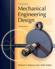 Shigley's Mechanical Engineering Design 9th edition 9780073529288 0073529281