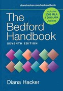 Bedford Handbook 7e cloth with 2009 MLA Update & Research Pack 7th edition 9780312608507 0312608500