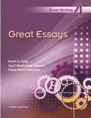 Great Essays 3rd Edition 9781424051014 1424051010