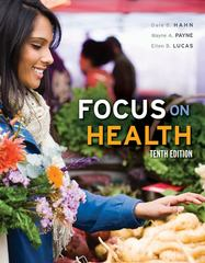 Focus on Health 10th Edition 9780073380896 007338089X