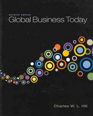 Global Business Today 7th edition 9780078137211 0078137217
