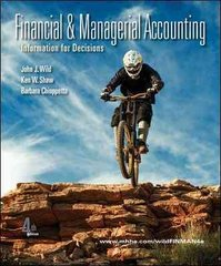Financial and Managerial Accounting 4th edition 9780078110887 0078110882
