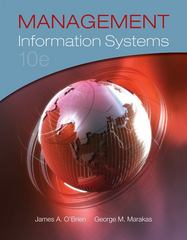 Management Information Systems 10th edition 9780077550714 0077550714