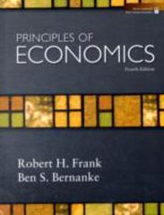 Principles of Economics 5th Edition 9780073511405 0073511404