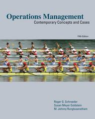 Operations Management 5th Edition 9780073403380 0073403385