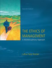 The Ethics of Management 7th Edition 9780073530543 0073530549