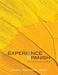 Experience Spanish 1st edition 9780077431686 0077431685
