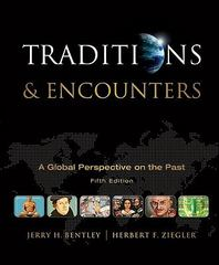 Traditions & Encounters 5th Edition 9780073385648 0073385646