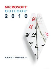 Microsoft Outlook 2010 1st edition 9780073519289 0073519286