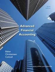 Advanced Financial Accounting 9th edition 9780078110924 0078110920