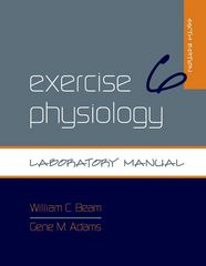 Exercise Physiology Laboratory Manual 6th edition 9780073376592 0073376590