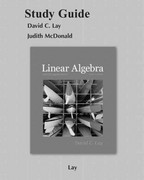 Student Study Guide for Linear Algebra and Its Applications 4th edition 9780321388834 0321388836
