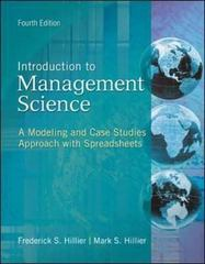 Introduction to Management Science 4th Edition 9780078096600 007809660X