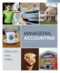 Managerial Accounting 1st edition 9780078110771 0078110777