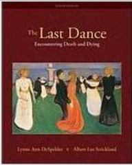 The Last Dance 9th edition 9780073532011 0073532010