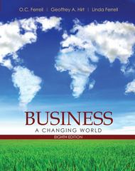 Business: A Changing World 8th Edition 9780073511757 0073511757
