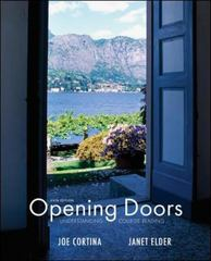 Opening Doors 6th Edition 9780073407180 0073407186