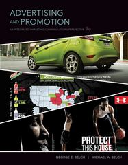 Advertising and Promotion 9th Edition 9780073404868 0073404861