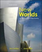 New Worlds: An Introduction to College Reading 4th Edition 9780073407173 0073407178